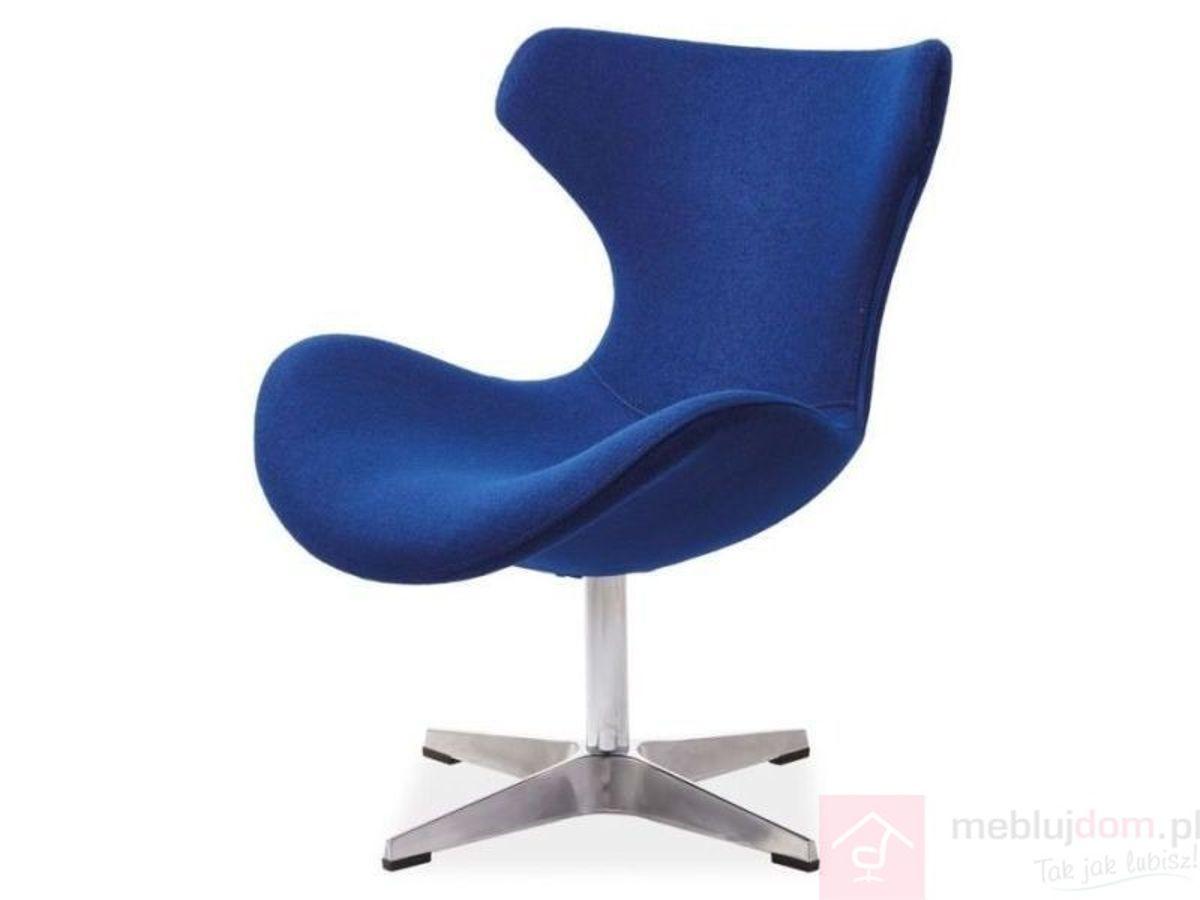 Fotel FELIX Signal Niebieski