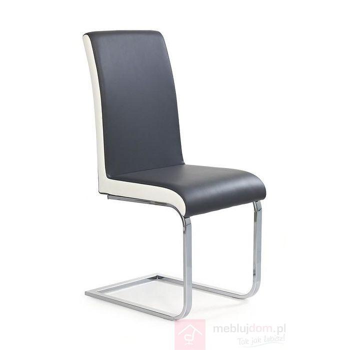 Krzesło K-103 Halmar Szaro-biały