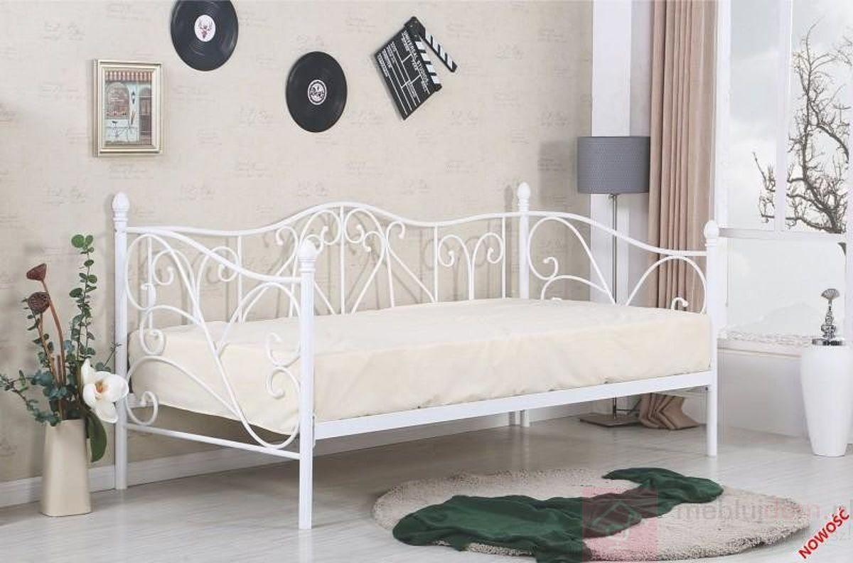 Łóżko SUMATRA Halmar białe