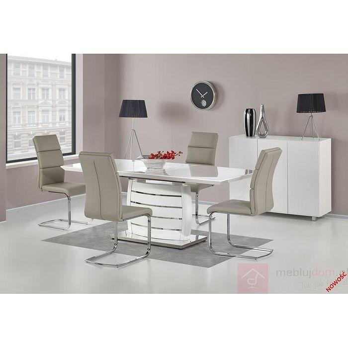 Stół ONYX Halmar biały połysk