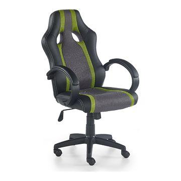 Fotel RADIX Halmar czarno-zielony