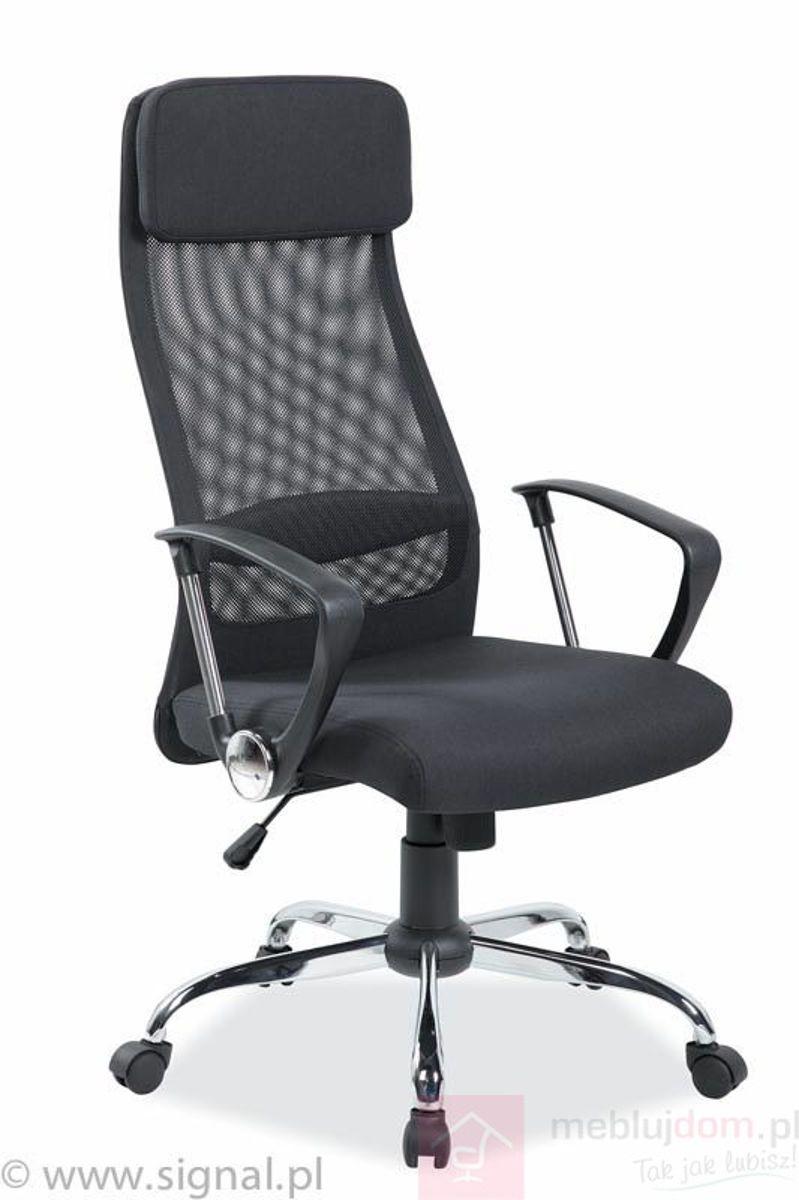 Fotel Q-345 Signal Czarny