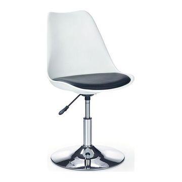 Fotel obrotowy COCO III Halmar Czarno-biały