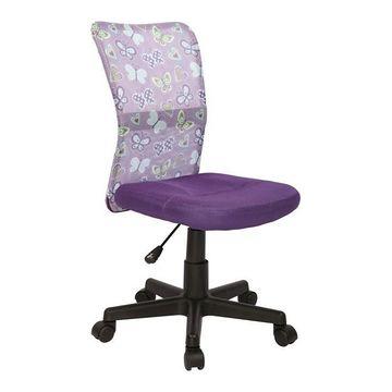 Fotel obrotowy DINGO Halmar Fioletowy