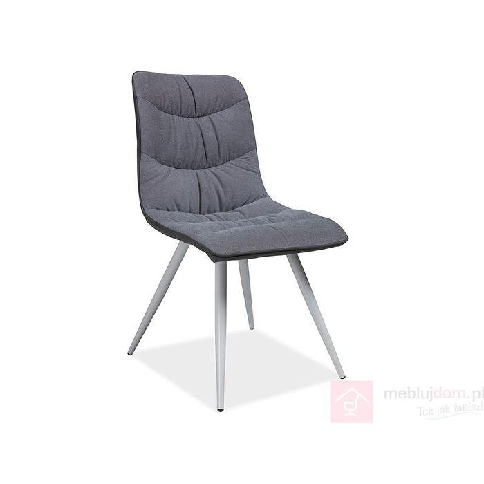 Krzesło EVITA Signal szare