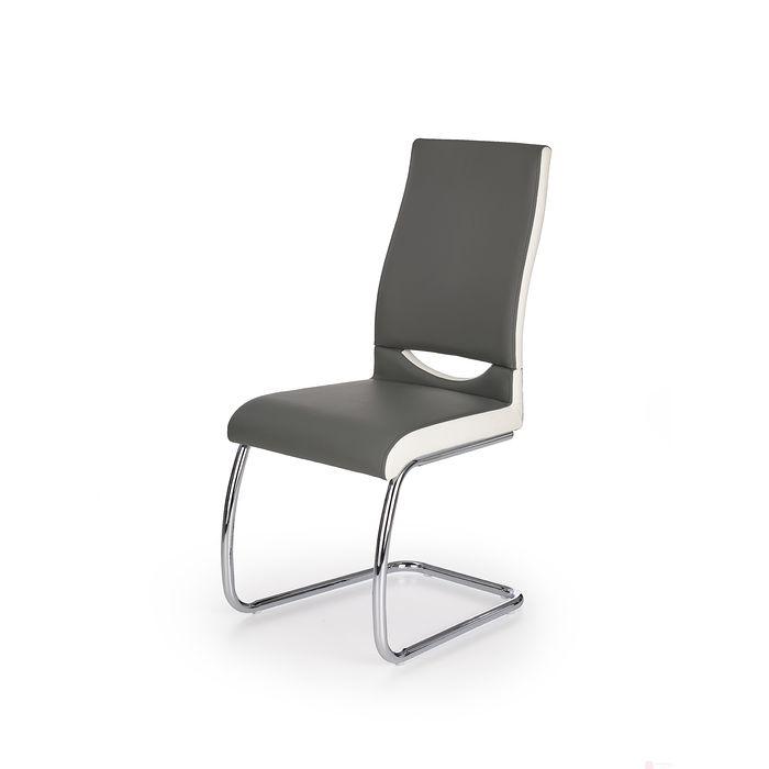 Krzesło K-259 Halmar (Popiel + biały)