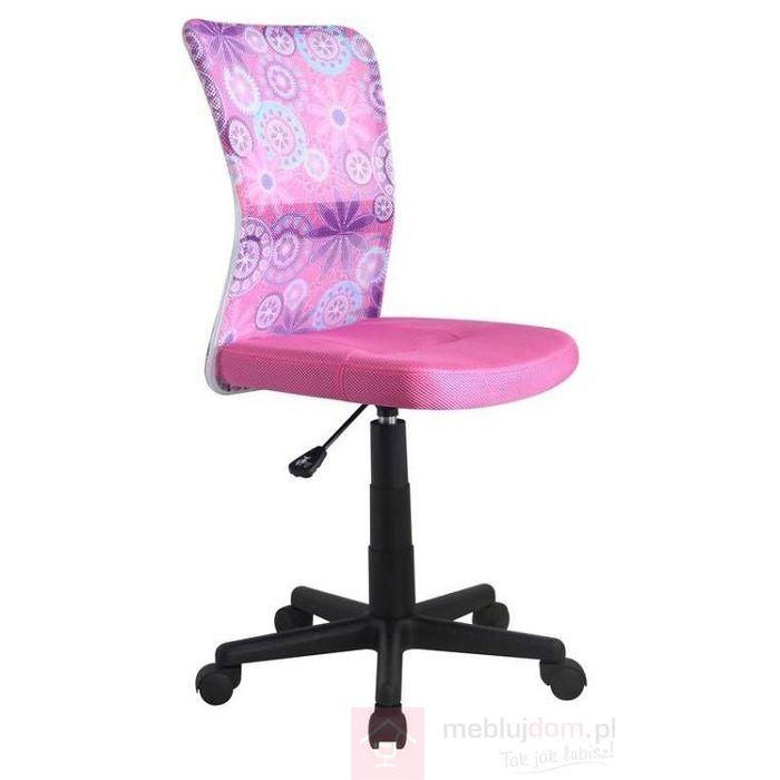 Fotel obrotowy DINGO Halmar Różowy