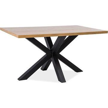 Stół CROSS Signal dąb-czarny