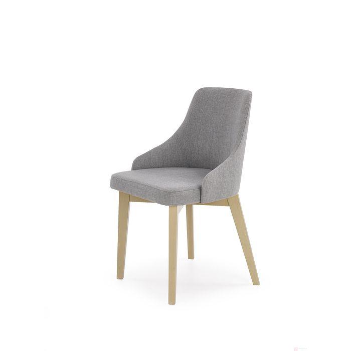 Krzesło TOLEDO Halmar (Dąb sonoma + Tapicerka INARI 91)