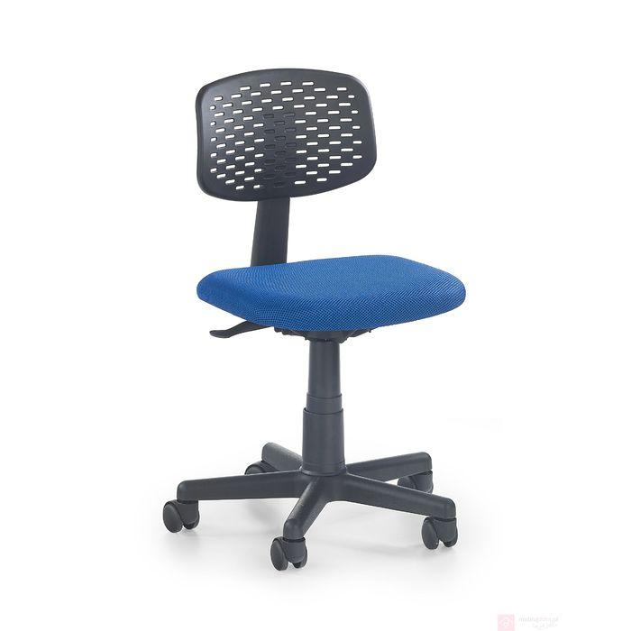 Fotel LOCO 2 Halmar czarno-niebieski