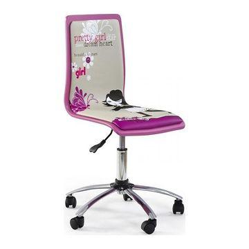 Fotel obrotowy FUN 1 Halmar Różowy