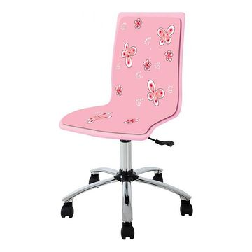Fotel obrotowy FUN 11 Halmar Różowy