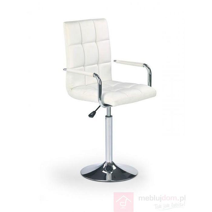Fotel obrotowy GONZO Halmar Biały