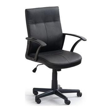 Fotel obrotowy HECTOR Halmar Czarny, Ekoskóra