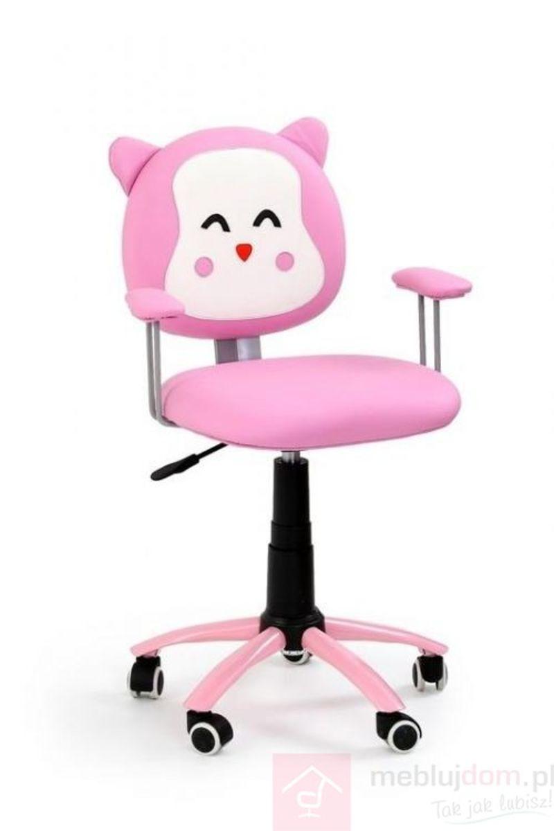 Fotel obrotowy KITTY Halmar Różowy
