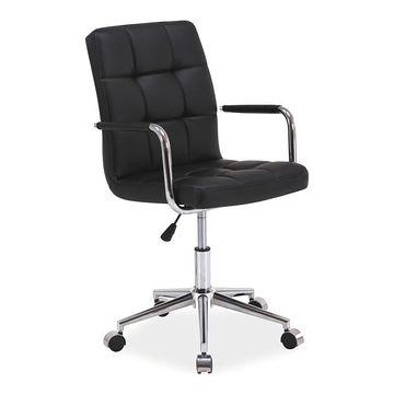 Fotel obrotowy Q-022 Signal Czarny