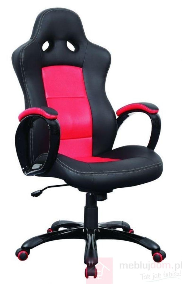 Fotel obrotowy Q-029 Signal Czarno-czerwony