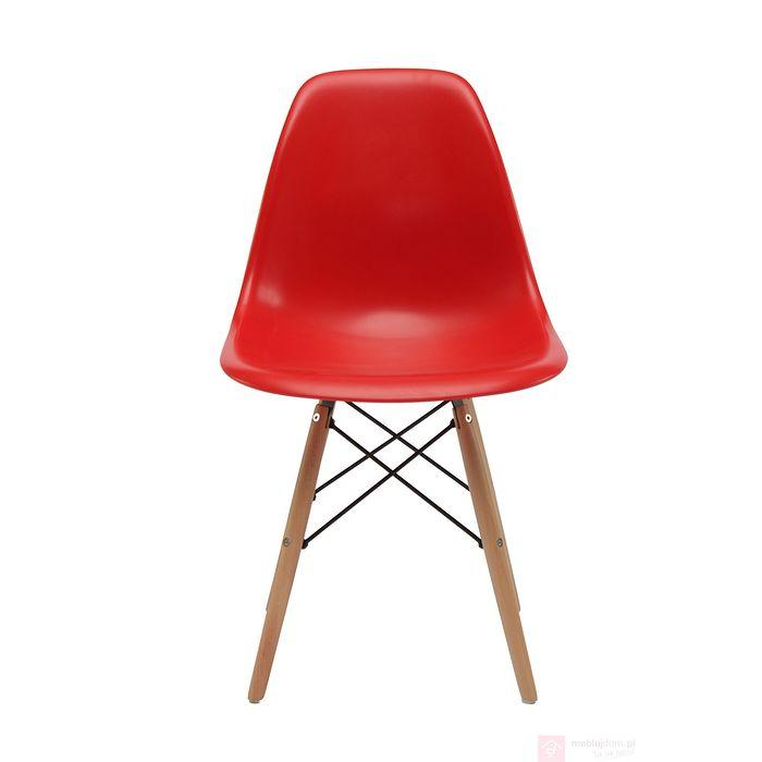 Krzesło AC-016W czerwone