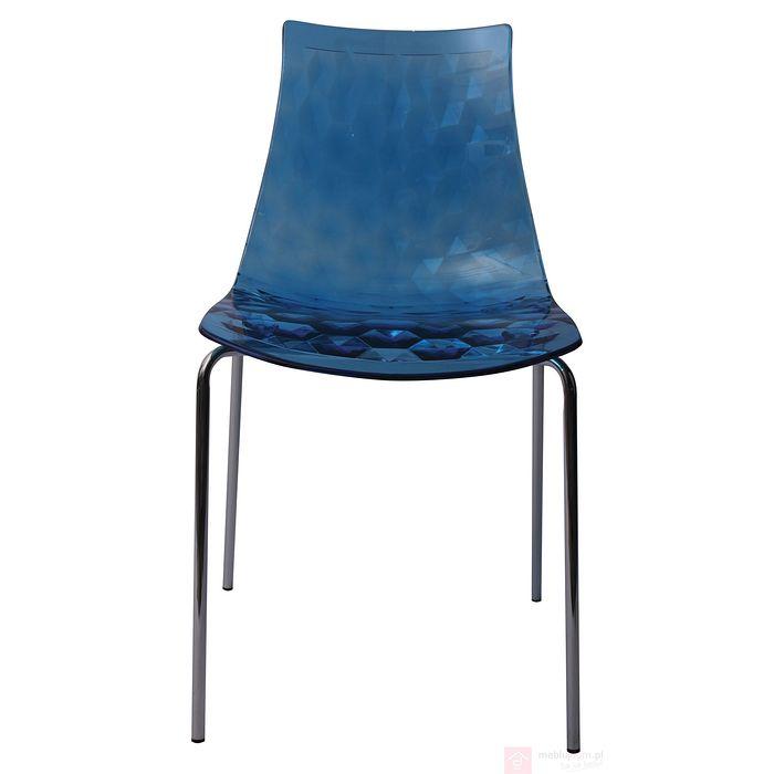 Krzesło AC-066 niebieskie