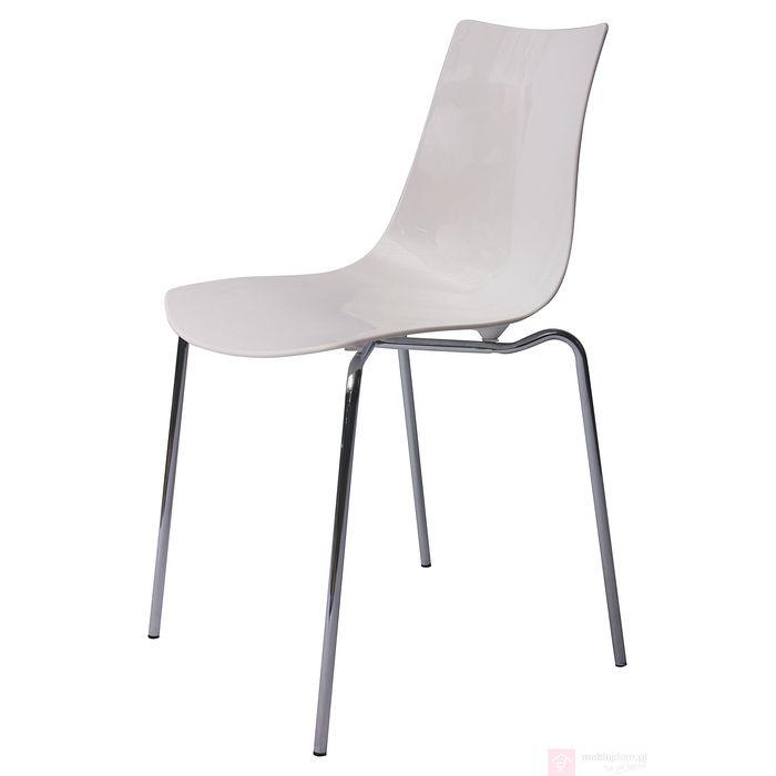 Krzesło AC-066C białe