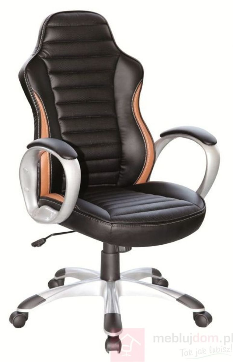 Fotel obrotowy Q-112 Signal Czarno-brązowy