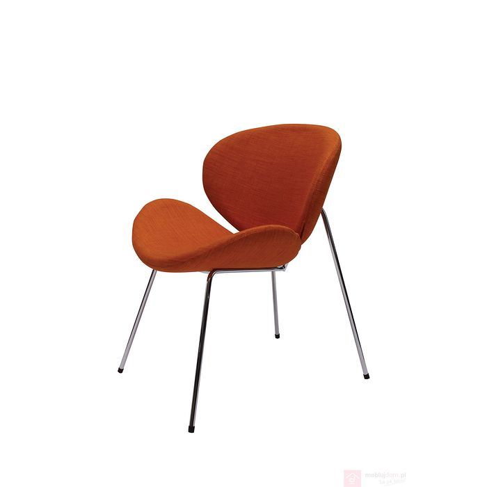 Fotel ARENA tkanina pomarańczowy