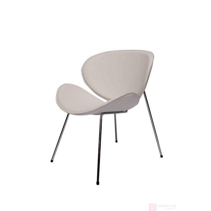 Fotel ARENA ekoskóra biały
