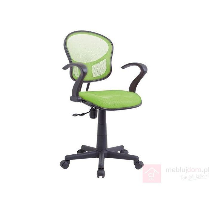 Fotel obrotowy Q-141 Signal Czarno-zielony