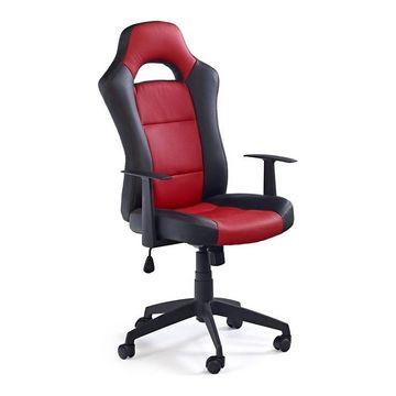 Fotel obrotowy RACER 2 Halmar Czarno-czerwony