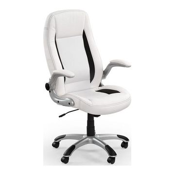 Fotel obrotowy SATURN Halmar Biały