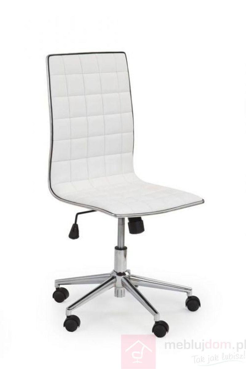 Fotel obrotowy TIROL Halmar Biały
