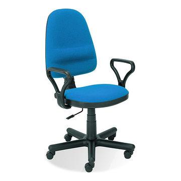 Fotel obrotowy BRAVO Halmar niebieski
