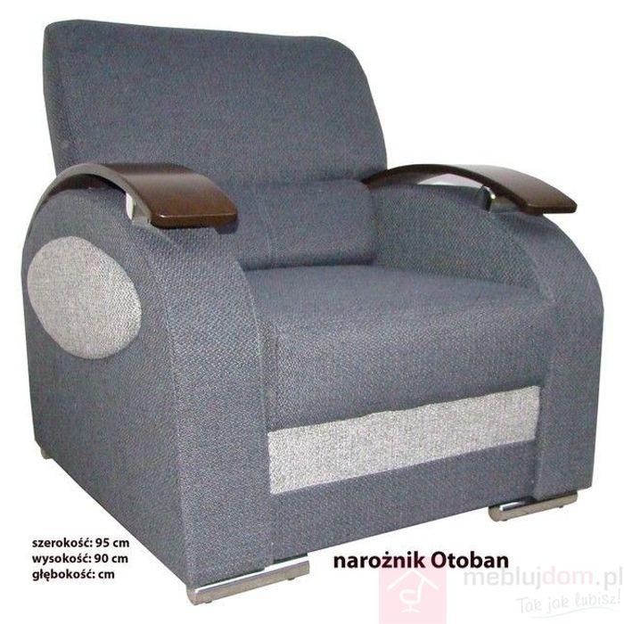 Fotel tapicerowany OTOBAN