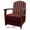 Fotel tapicerowany ZEUS