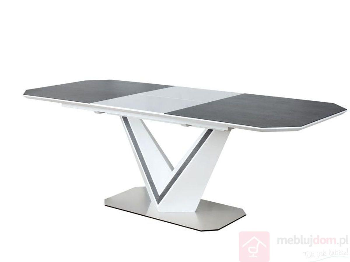 Stół VALERIO CERAMIC Biały