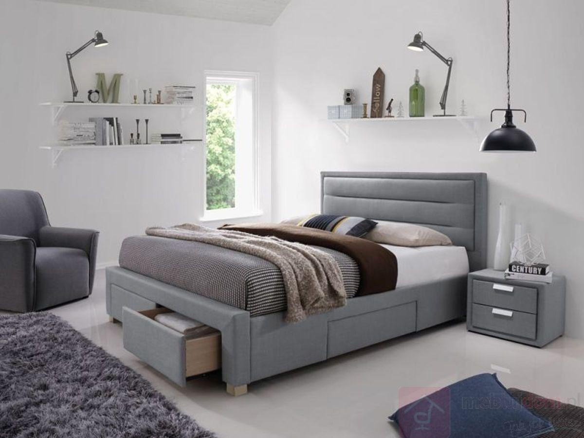 Łóżko INES Signal (Szary)