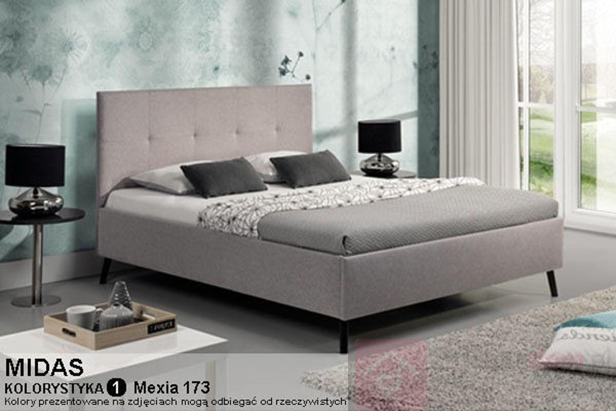 Łóżko tapicerowane MIDAS (MEXIA 173)