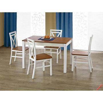 Stół KSAWERY Halmar olcha + biały