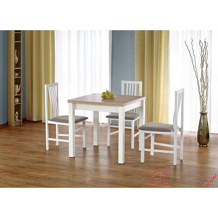 Stół GRACJAN Halmar dąb sonoma + biały