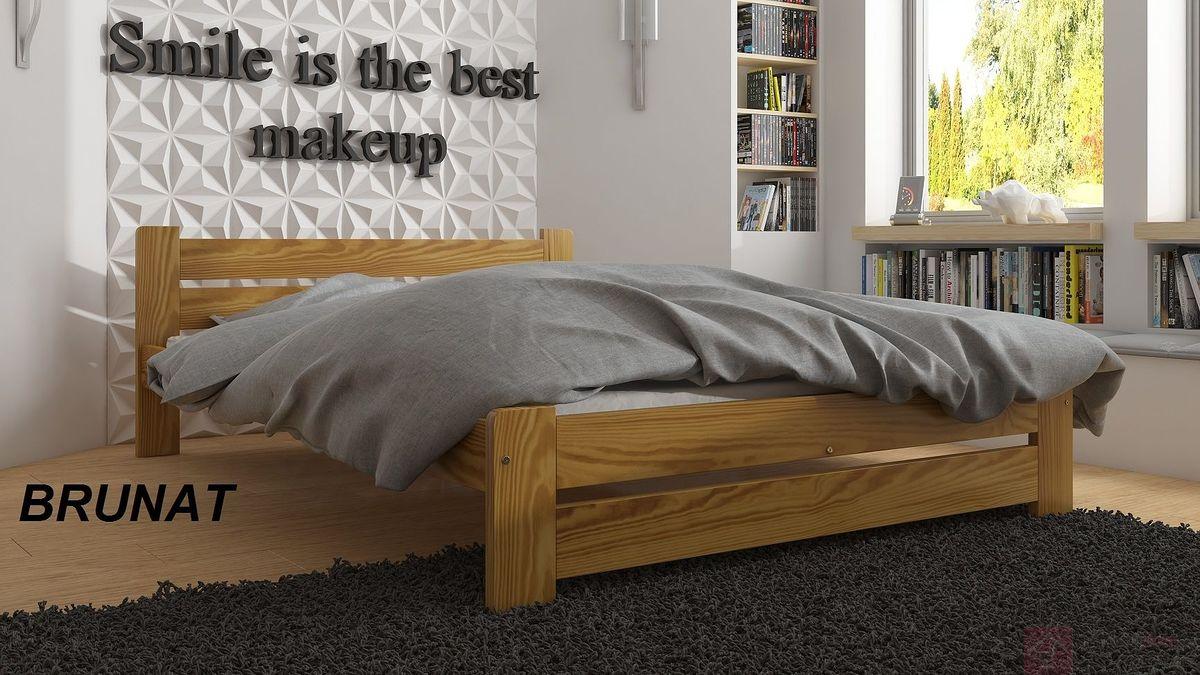łóżko Drewniane Moni 9 Wariantów Kolorystycznych