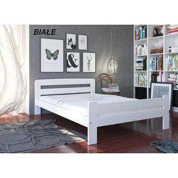 Łóżko drewniane LOLA MAXI (Białe)