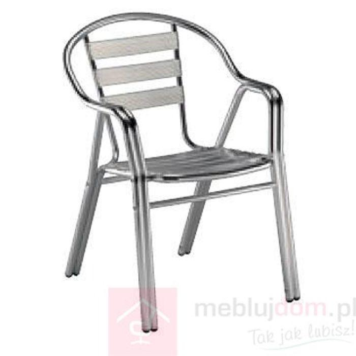 Krzesło z podłokietnikami Edge