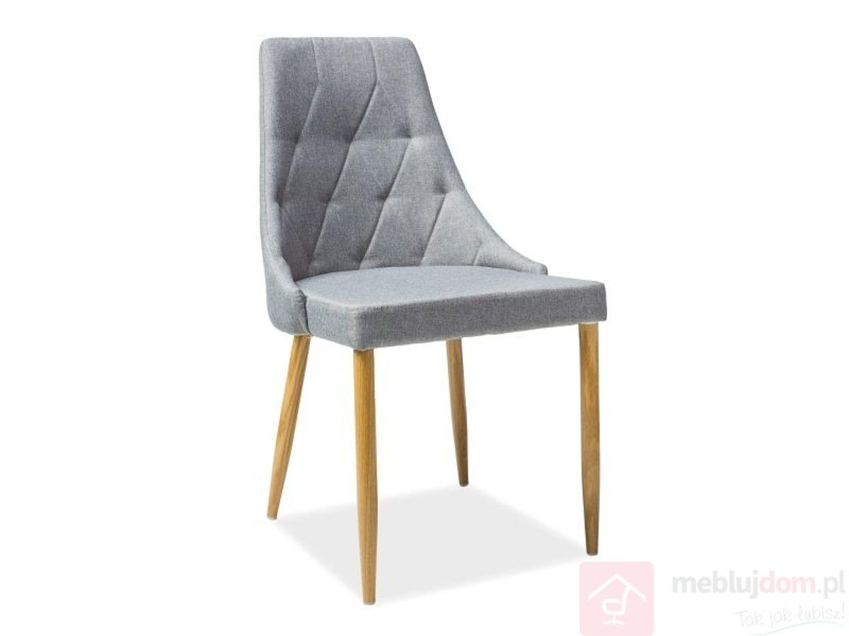 Krzesło TRIX szare
