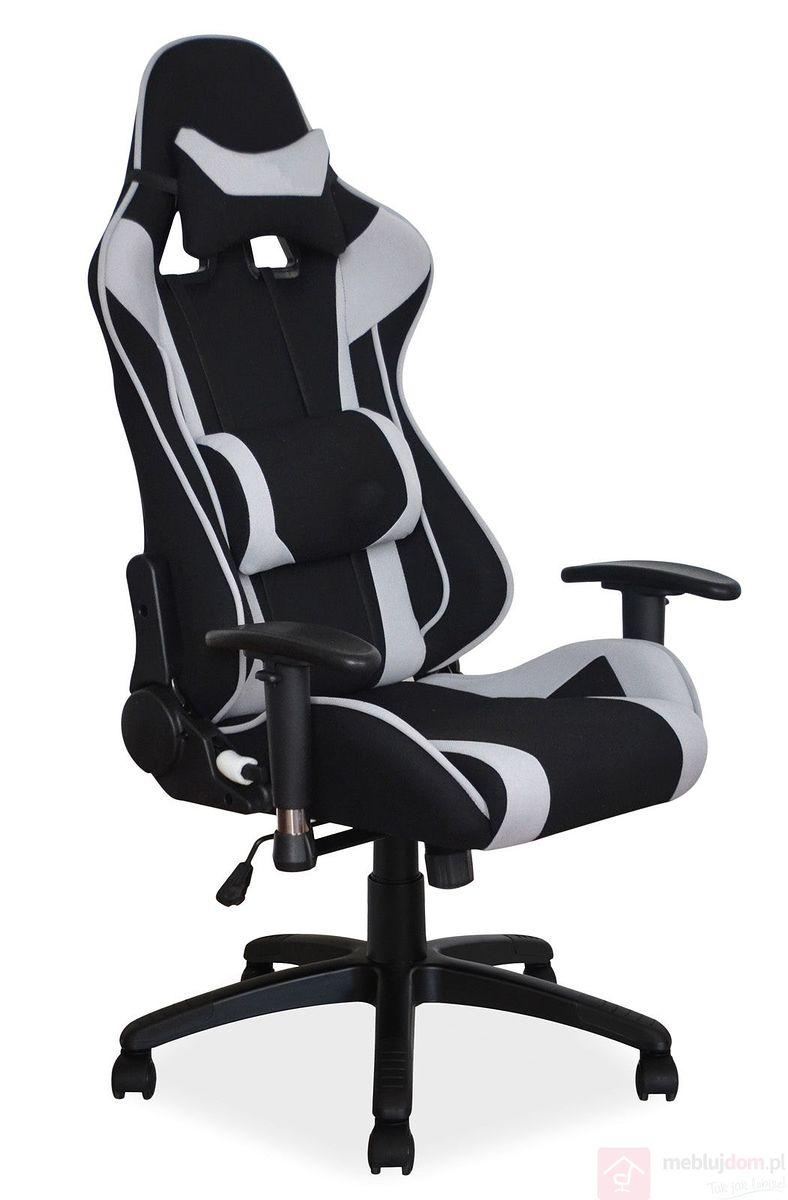 jaki fotel gamingowy z materiału