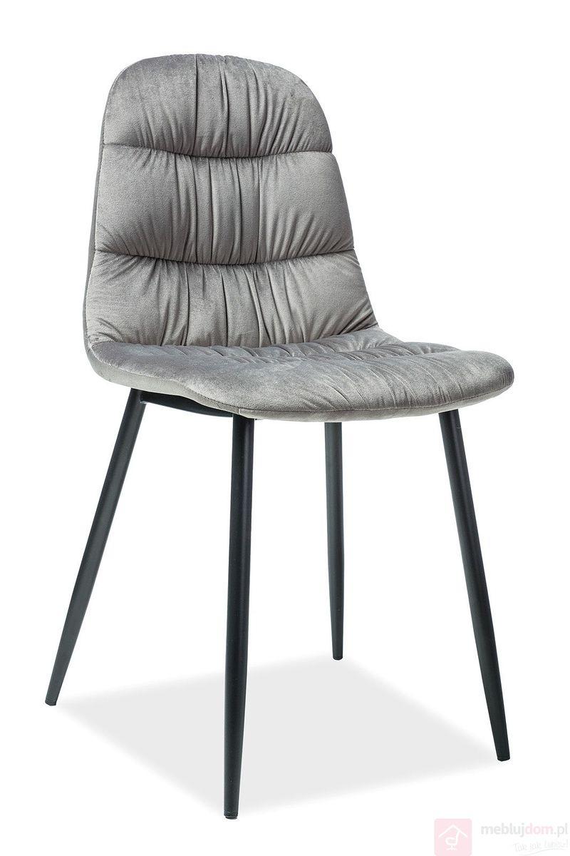 Krzesło VEDIS Aksamit Signal