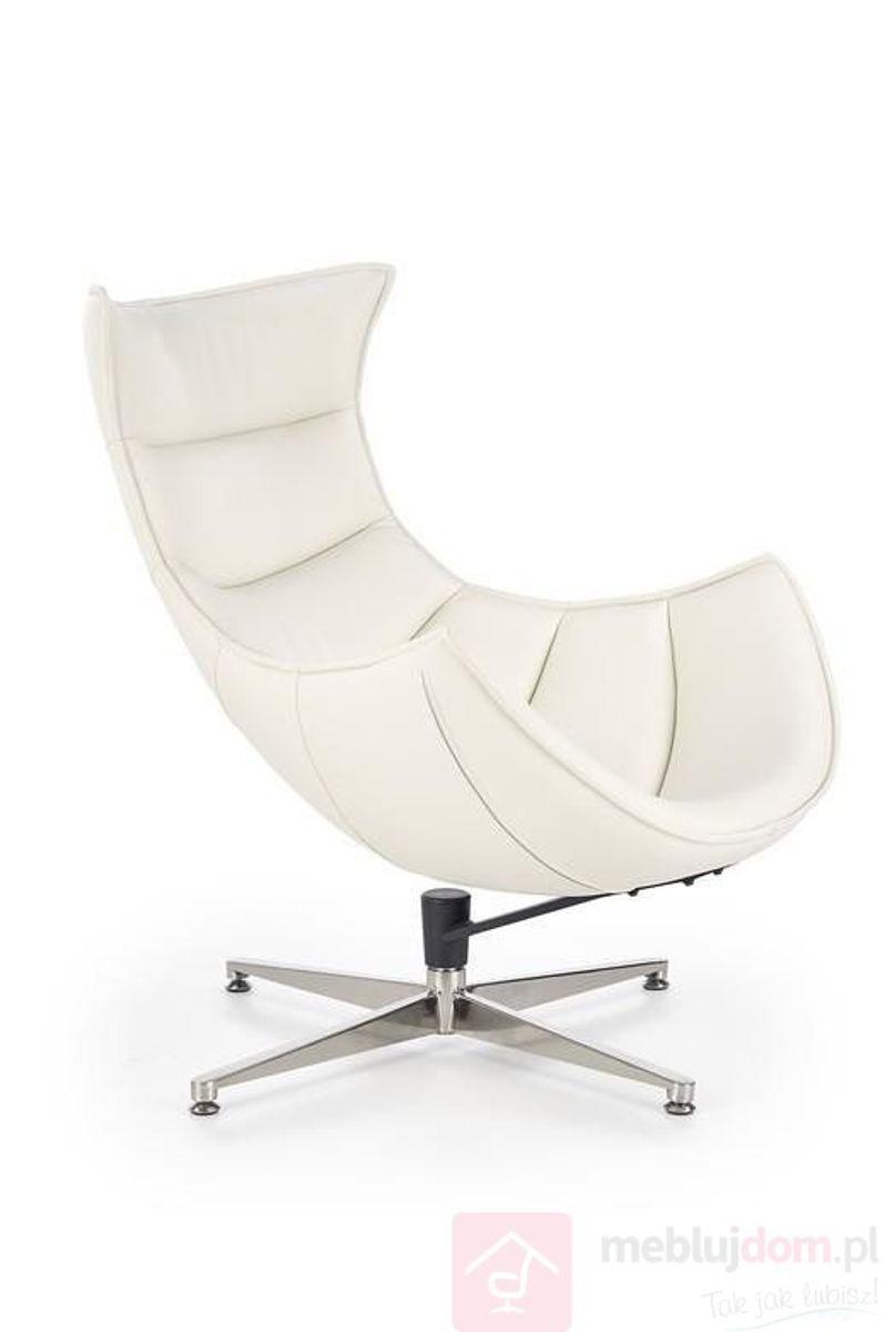 Fotel LUXOR HALMAR (Biały)