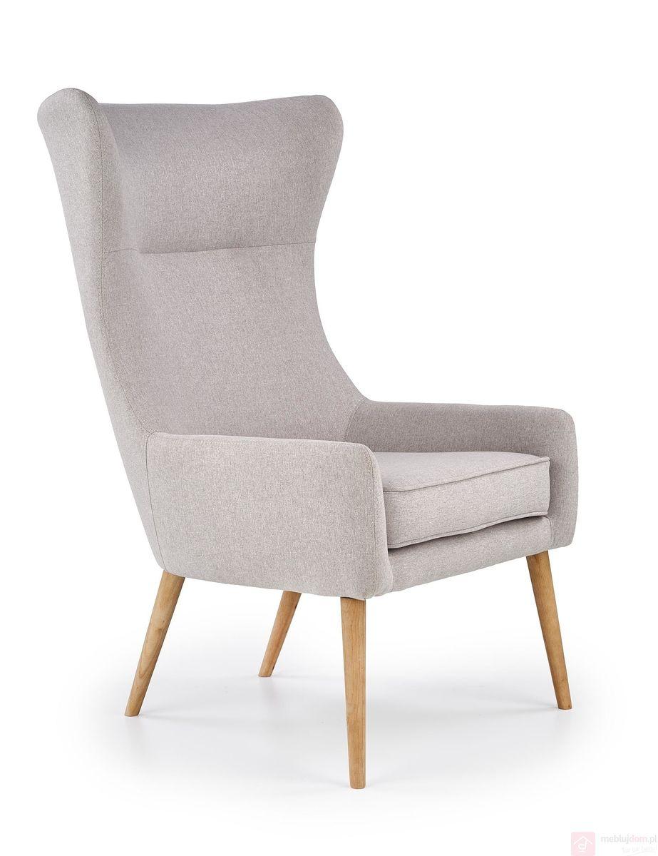 Fotel FAVARO 2 HALMAR (Jasny popiel)