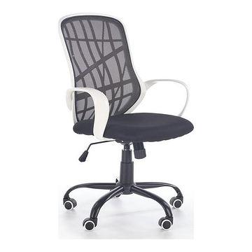 Fotel DESSERT Halmar czarno-biały