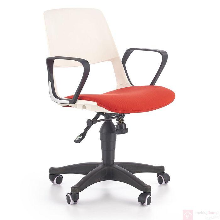 Fotel obrotowy JUMBO Halmar czerwień