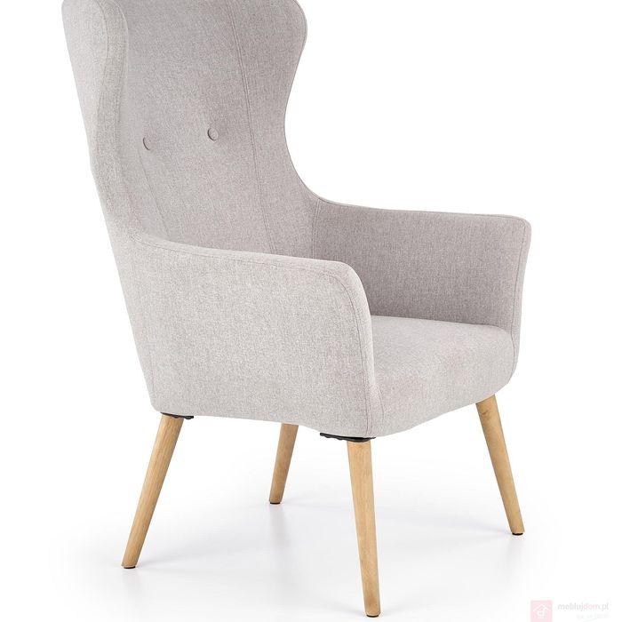 Fotel COTTO Halmar (Jasny popiel)